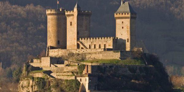 Vue globale château de Foix