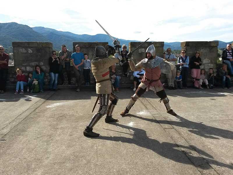 Médiévales au château de Foix