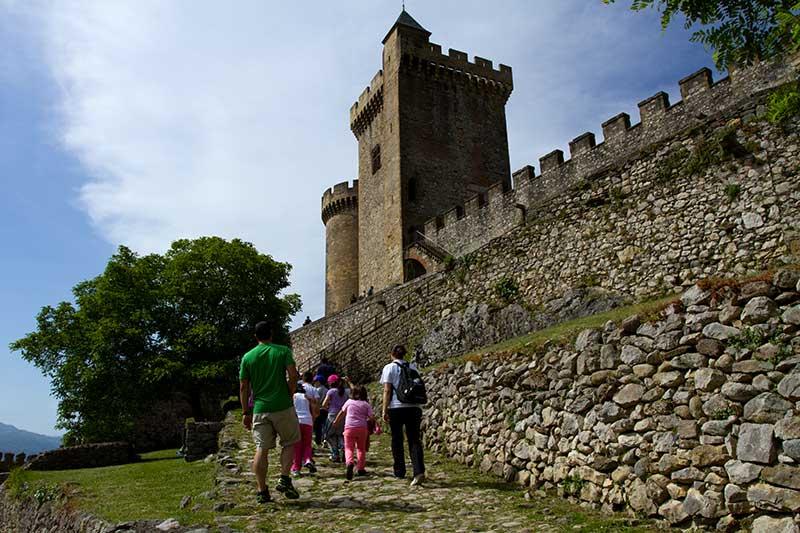 Remparts du château de Foix