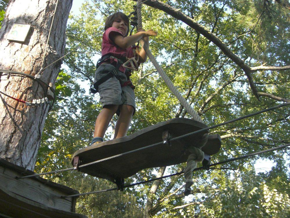 Parcours accro branches à Carla Bayle