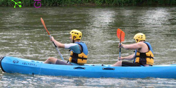 Canoe sur l'Ariège à Clermont-le-Fort