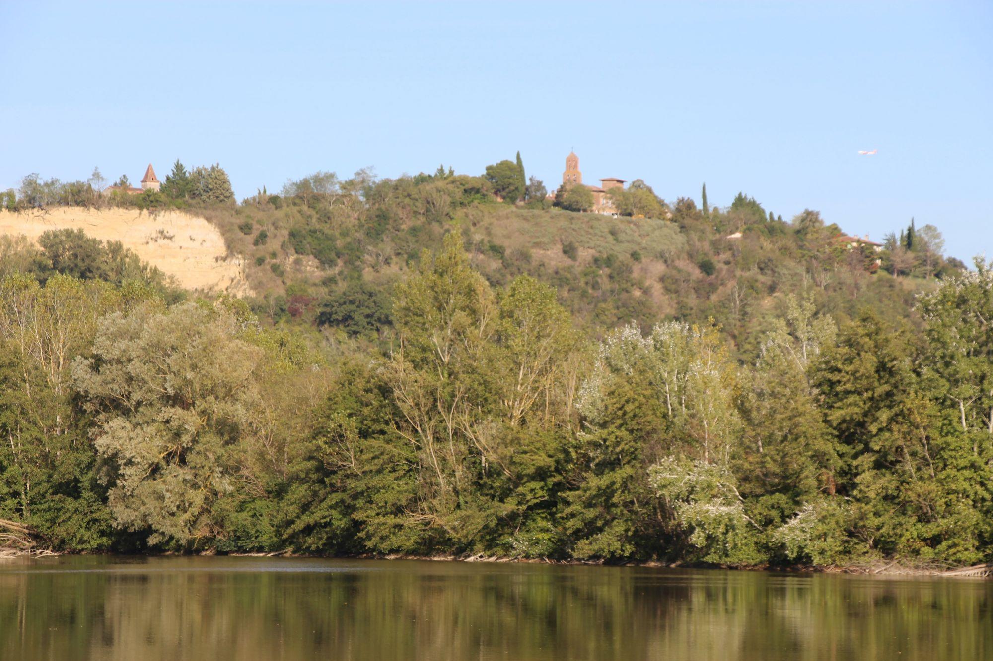 Vue sur le Fort de Clermont