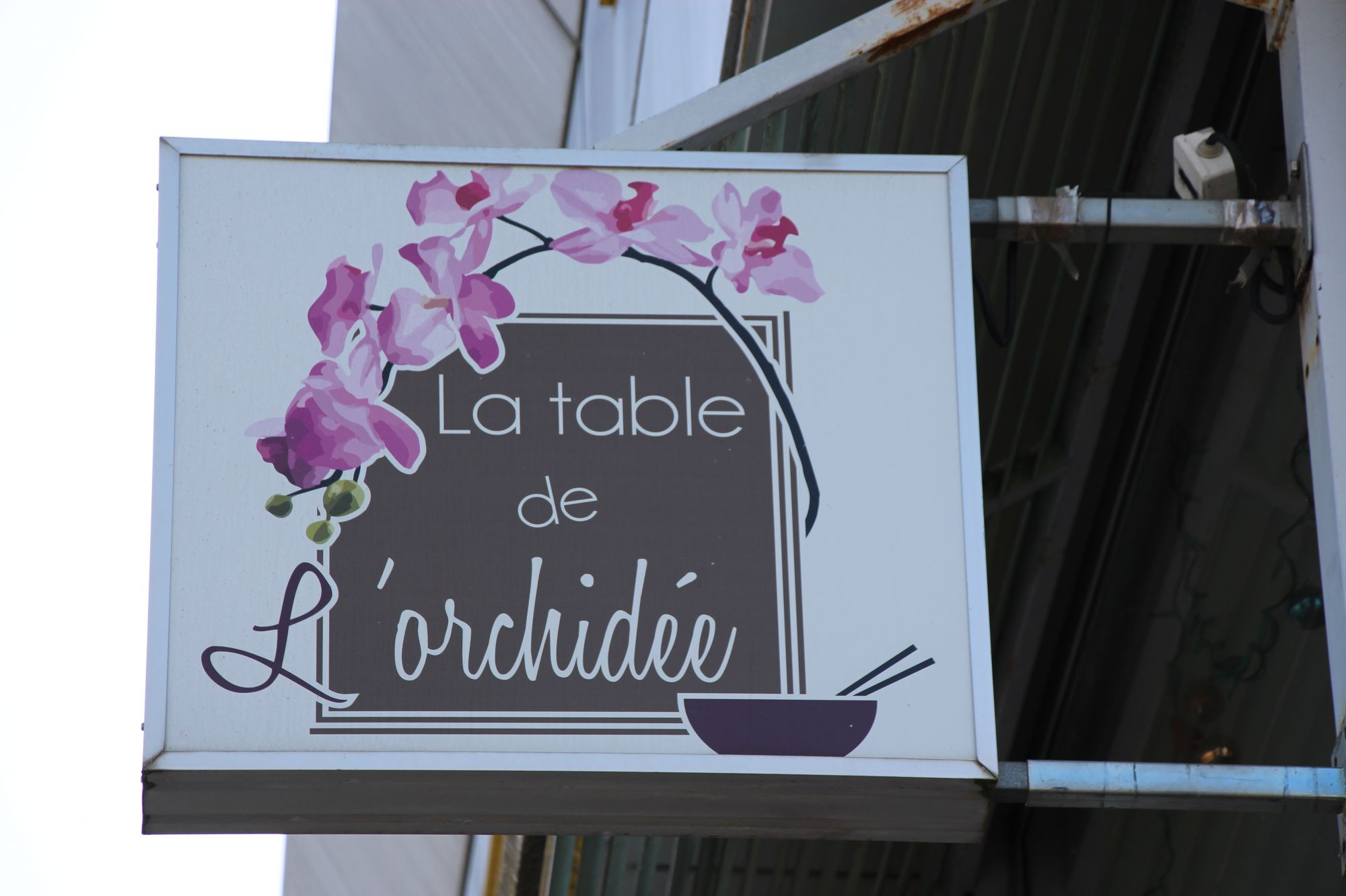 La Table de l'Orchidée