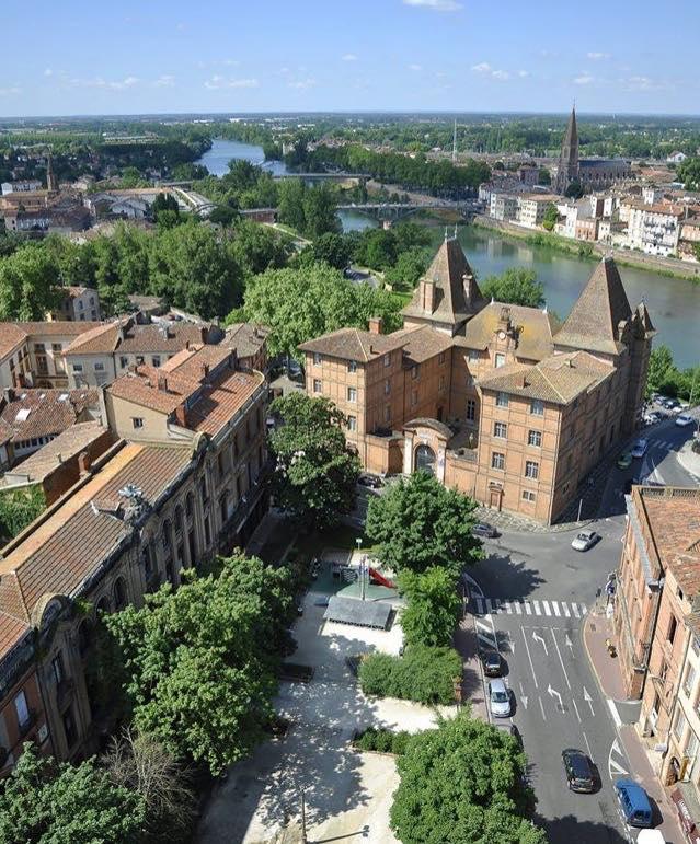 Vue sur Musée Ingres à Montauban