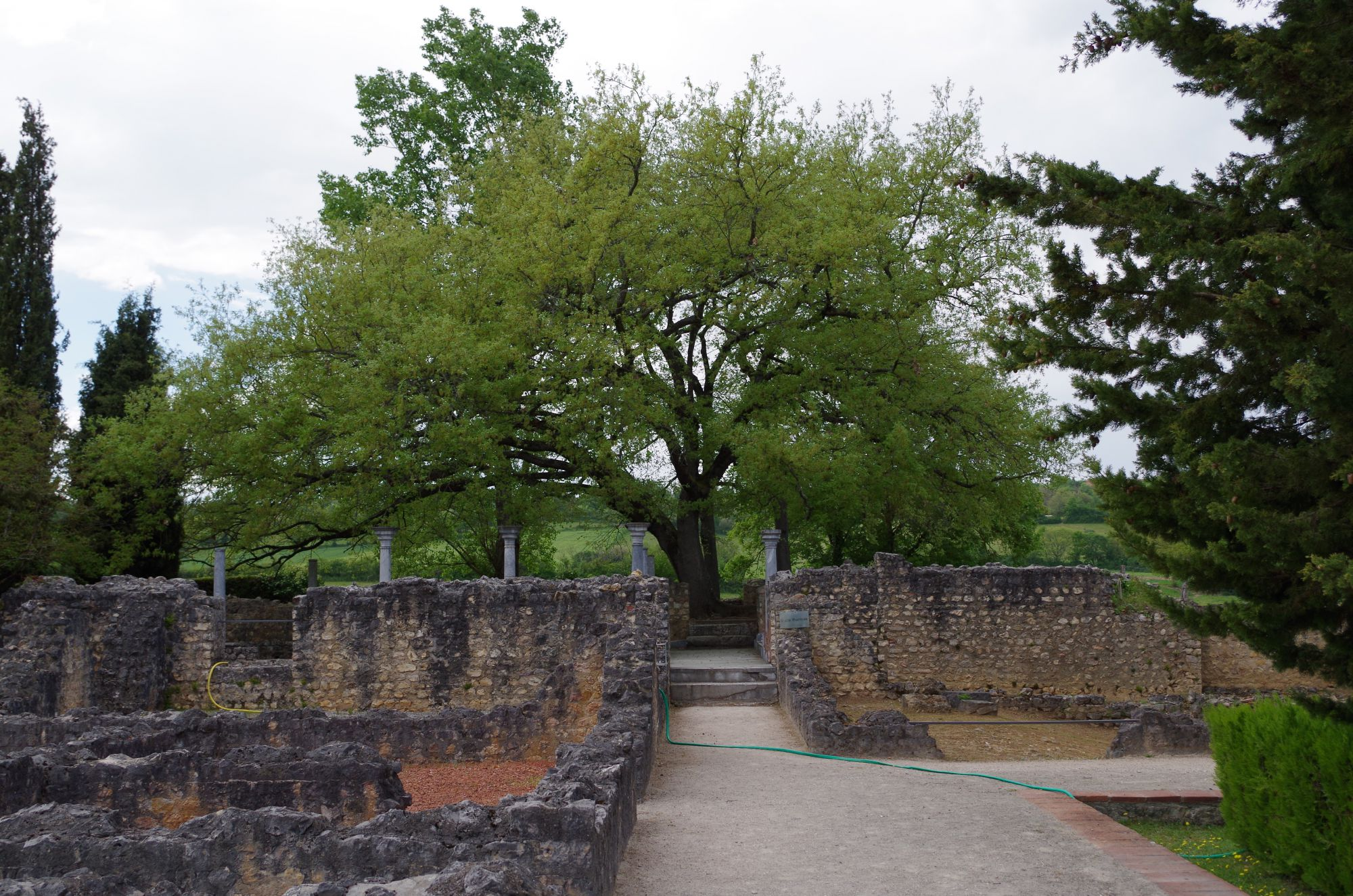 Vestiges de la Villa gallo-romaine de Montmaurin