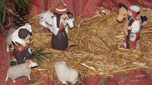 Crèche de Noël du Pérou