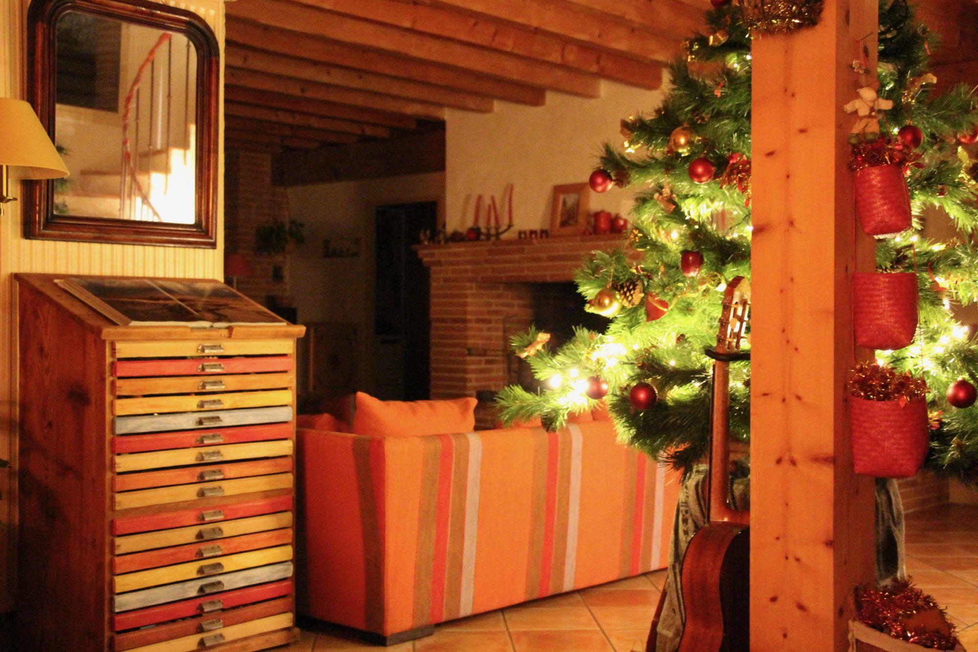 Ambiance de Noël Maison d'hôtes