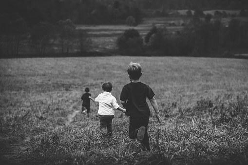 Enfants campagne