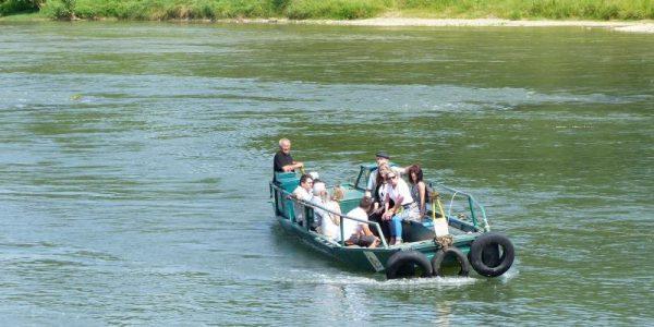 Traverser la Garonne en bac