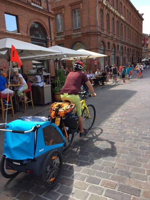 Avec bébé à vélo