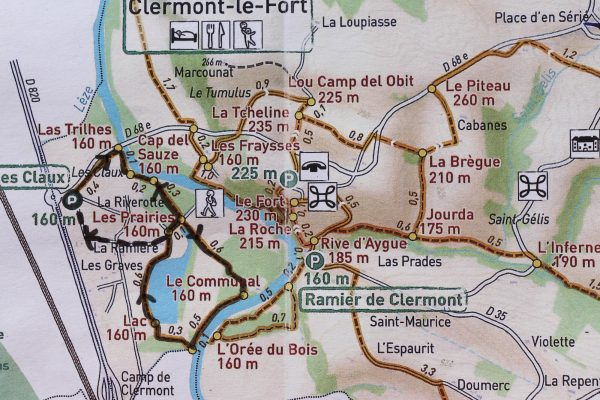 Randonnée Clermont-le-Fort