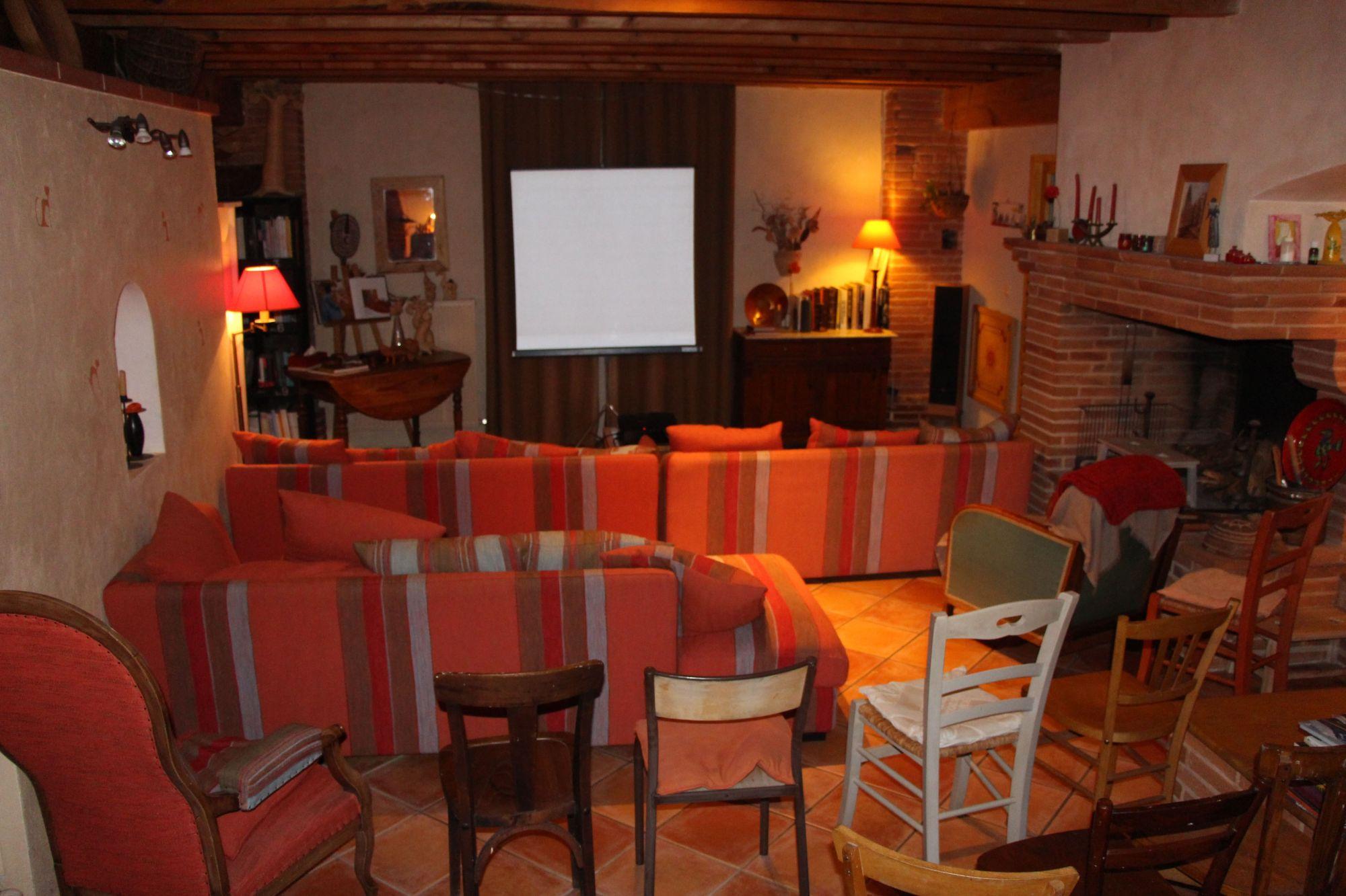 Salle cinéma maison