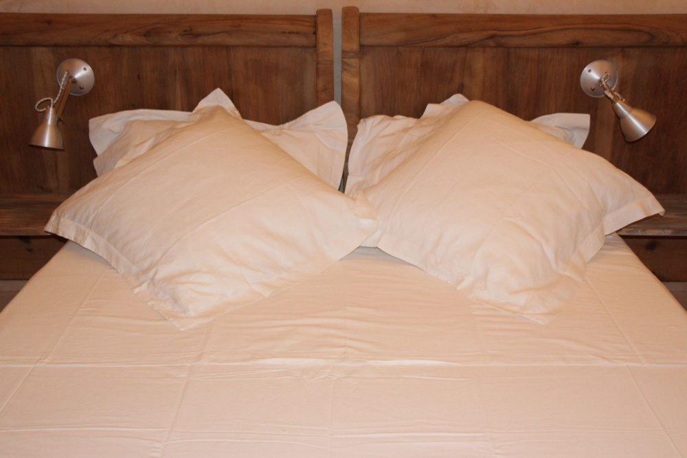 Grand lit de Port pastel