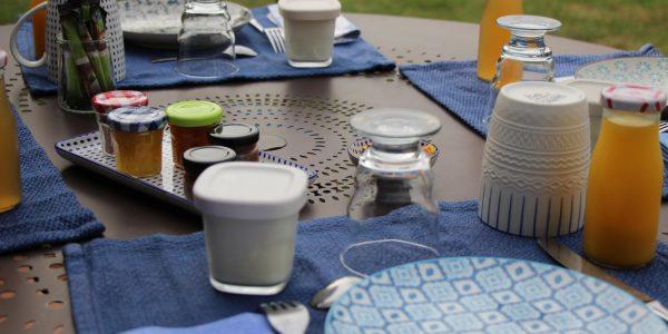 Petit-déjeuner estival