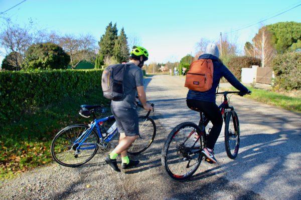 Venir à vélo aux Couleurs du Vent